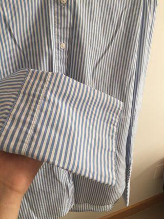 Camisa bardot marinera