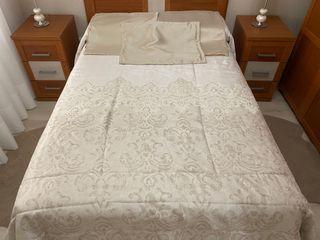 Edredón para cama de 1,35 con cojines incluidos