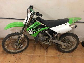 Moto kawasaki cross 75cc
