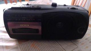 radio cassette aiwa vintage