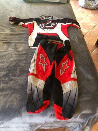 Ropa niño de moto o quad