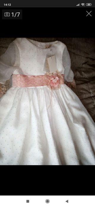 vestido comunión talla 115 a estrenar