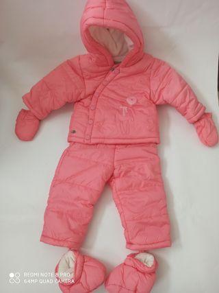 Conjunto de invierno para bebé grain de blè