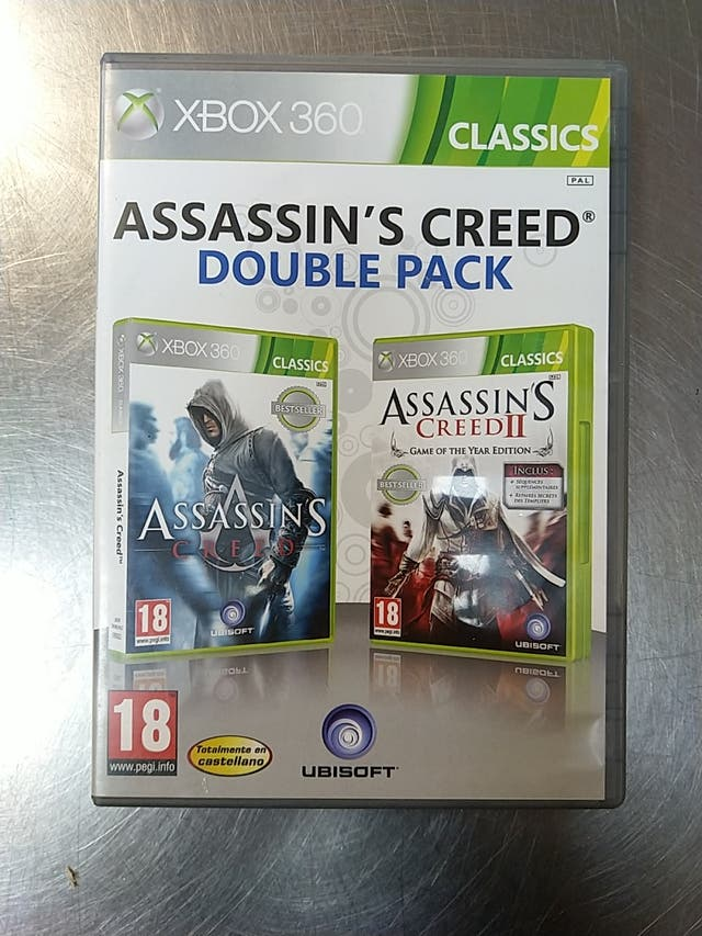 Assassin's Creed Double Pack, XBOX 360
