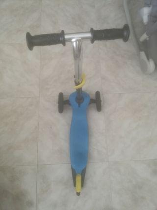 patinete de infantil de 3 ruedas