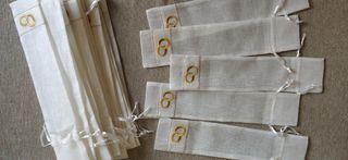 Fundas para detalles boda, ideal abanicos