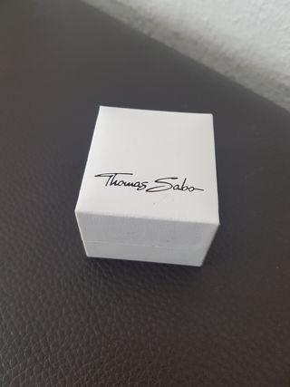 Anillo Plata 925 y oro rosa Thomas Sabo - Talla 52