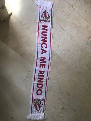 bufanda sevilla fc nunca me rindo
