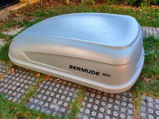 Cofre maletero de coche + barra de sujeción