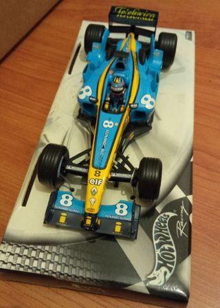 Maqueta Fernando Alonso R24