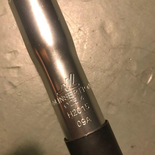 Adaptador potencia ahead 1,1/8 25.4 horquilla