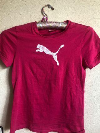 Camiseta Puma rosa