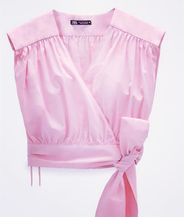 Top Zara talla 40 nuevo con etiqueta