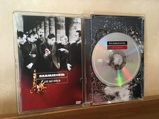 DVD Rammstein Live Aus Berlin - libreto fotos 1999