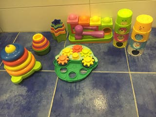 Juguetes estimulación cognitiva Bebés.
