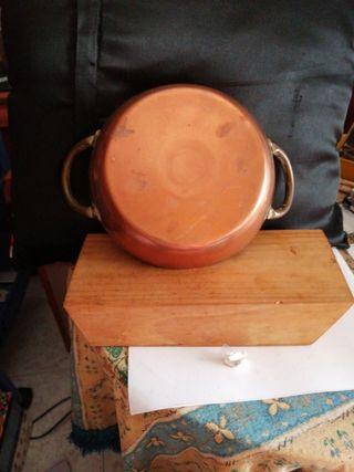 Sarten metal cobre