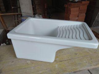 Fregadero porcelana 60cm x 39cm