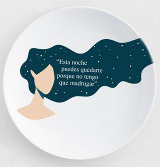 Regala Vajilla+Libro artistico sin estrenar
