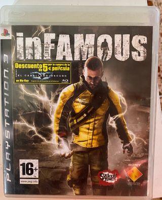 Infamous PS3