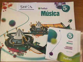 Libro música 5 Primaria. Edelvives Pixépolis