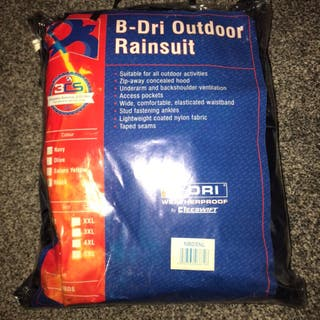 B-Dri Rainsuit