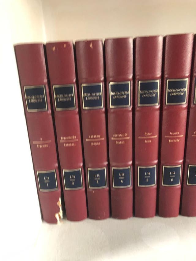 Enciclopedia Larousse L14