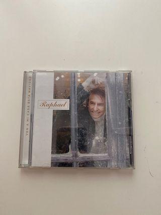 Disco CD Raphael, ven a mi casa esta Navidad
