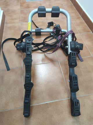 Portabicicletas de maletero para 3 bicis