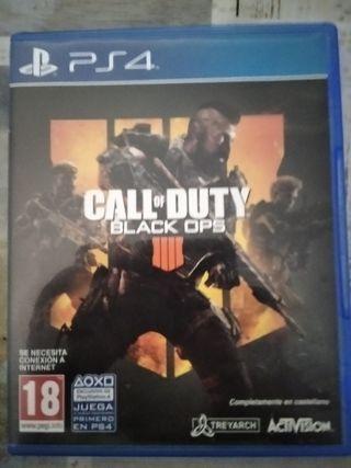 Juego Black Ops 4 para PS4 y dos de regalo