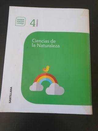 LIBRO DE CIENCIAS NATURALES 4 DE PRIMARIA