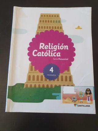 LIBRO DE 4 DE PRIMARIA DE RELIGIÓN