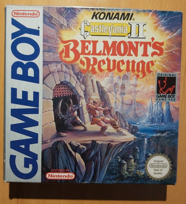 Castlevania II - Belmont's Revenge para GAMEBOY
