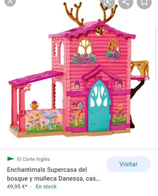 CASA DEL BOSQUE DE LAS ECHANTIMALS + REGALO COLUMP