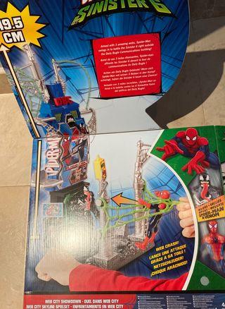 Marvel Ultímate Spiderman-man The sinister 6