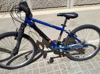 Bicicleta todoterreno niño
