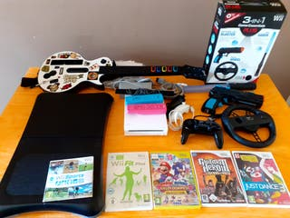 PACK LOTE NINTENDO WII CON EXTRAS