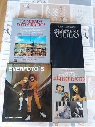 4 libros de fotografía