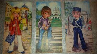 Antiguos cuadros parisinos