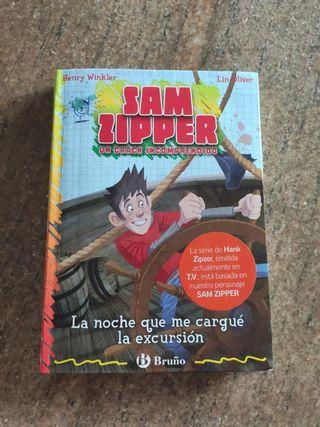"""libro """"Sam Zipper"""" La noche que me cargué la excur"""