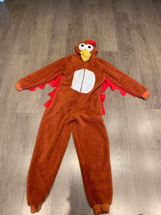 Mono / disfraz gallina!