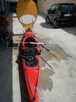 kayak piragua de travesía 505 cm
