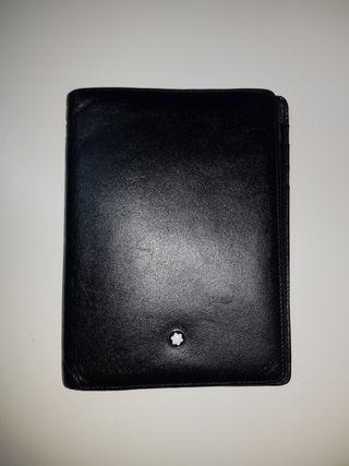 Billetera Cartera Montblanc Meisterstück negro