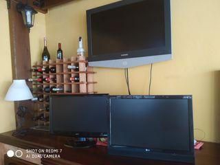 3 TELEVISIONES TODAS FUNCIONAN