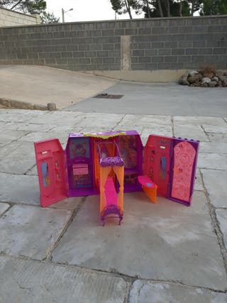 castillo de barbie