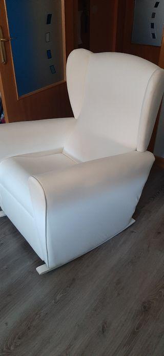 sillón de lactancia mecedora