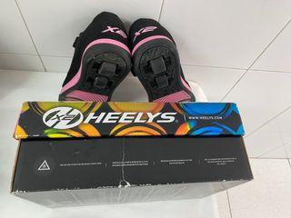 Zapatilla ruedas rosa 35