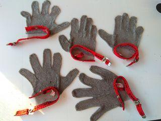 guantes de carnicero Chainex