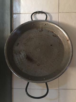 Sartén paellera para paellas