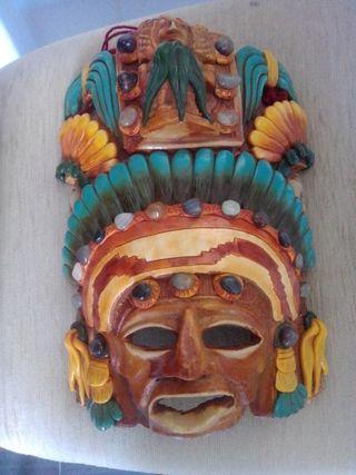 Mascara maya artesanal