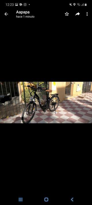 Bicicleta eléctrica de paseo!